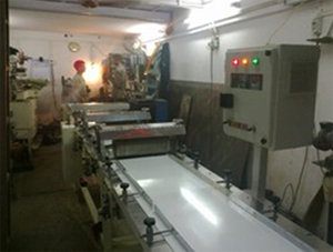 Total Line In Sheeting And Cutting Machine